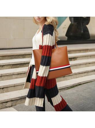 Fashionable/Stripe/Multi-functional Tote Bags/Bag Sets/Purse