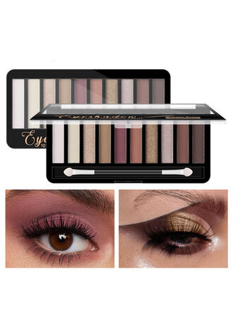 10-color Matte Shimmer Classic Eyeshadow With Box