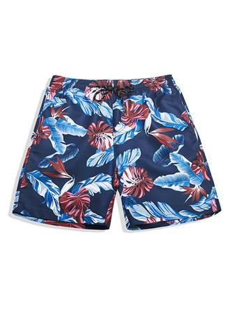 Men's Lined Hawaiian Board Shorts