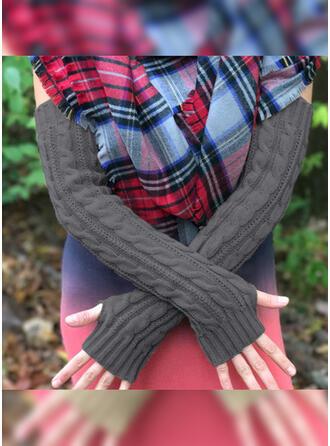 Einfarbig/Häkeln einfache/Atmungsaktiv/Damen Handschuhe