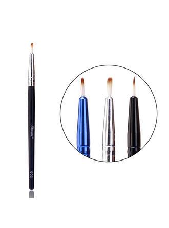 Minimalist Portable Simple Classic Wooden Handle Blush Brushes Eyeliner Brush