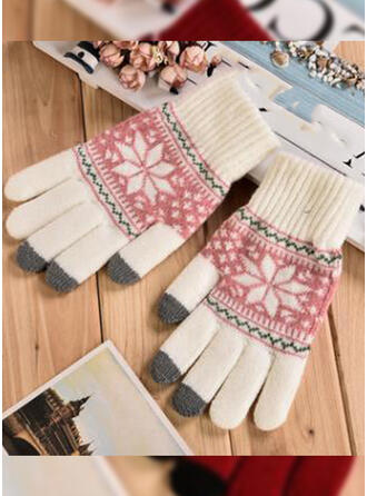 Floral/Christmas Protective/Full Coverage/Fingers Gloves