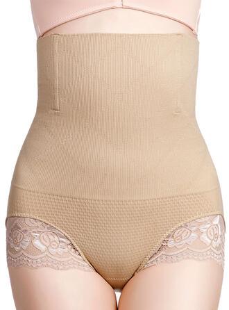 Nylon Chinlon Lace Plain Shapewear