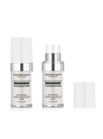 Sexy Alluring Whitening Plastic Liquid Foundation With Box
