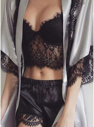 Polyester Lace Cami Set Pyjama Set