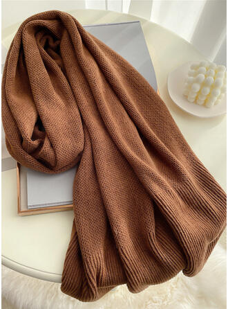 Solid Color simple/Comfortable/Skin-Friendly Scarf