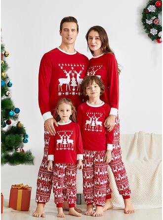 Rentier Schreiben Passende Familie Christmas Pajamas