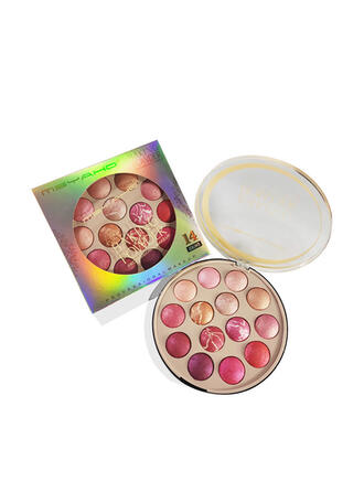 14-color Waterproof Brighten Blusher Eyeshadow Palette With Box