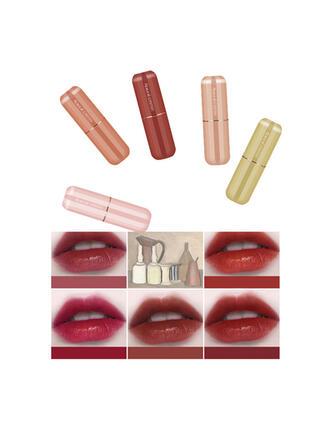5-color Matte Classic Velvet Lipsticks Lip Sets With Box