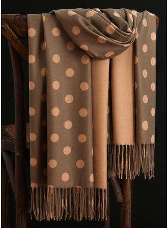 Polka Dots/Tassel/Geometric Print fashion/Multi-functional Scarf