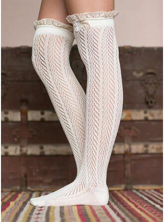 Einfarbig/Stitching Warmen/Komfortabel/Knee-High Socks Socken/Strümpfe Socken