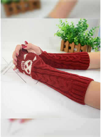 Solid Color/Graphic Prints/Halloween attractive/Skull Print Gloves