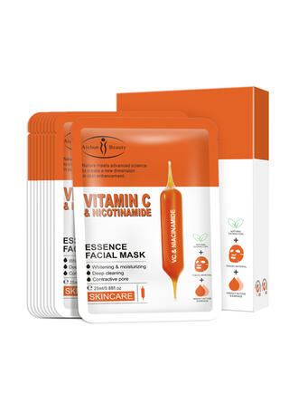 10 PCS Hydrating Moisturize Hydrate Maks With Box