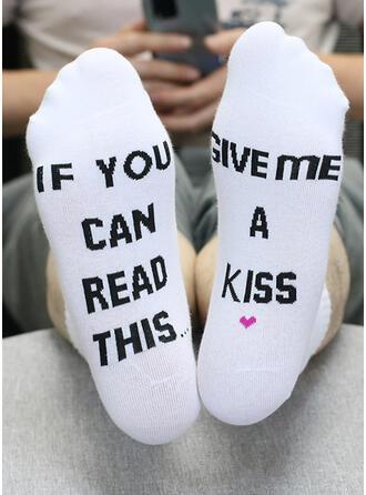 Letter fashion Socks 2 PCS