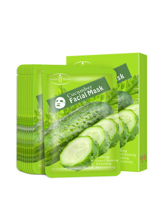 10 PCS Hydrating Moisturize Hydrate Avocado extract Maks With Box