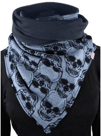 Retro /Jahrgang/Druck/Blätter Wiederverwendbar/Damen/Einfache Stil Schal