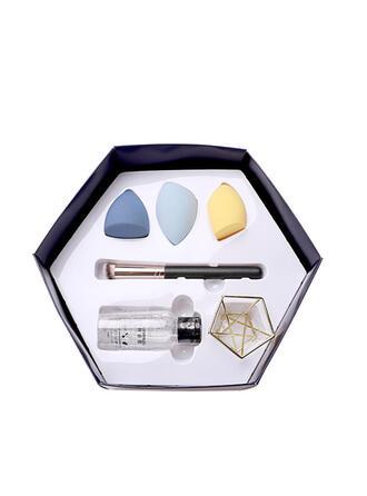 6 PCS Simple Classic Makeup brush cleaning Makeup Sponge sets