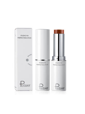 Sexy Alluring Whitening Plastic Highlight & Bronze Liquid Foundation With Box