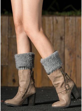Einfarbig Warmen/Komfortabel/Leg Warmers/Boot Cuff Socks Socken