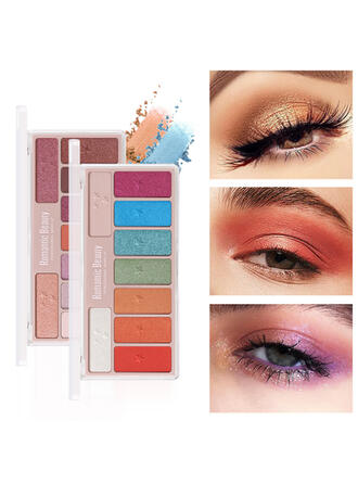 9-color Matte Shimmer Classic Eyeshadow With Box