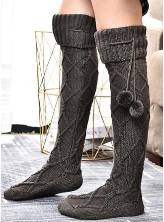 Crochet Warm/Women's/Knee-High Socks Socks/Stockings
