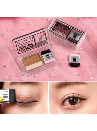 2-color Matte Shimmer Classic Color rendering Eyeshadow Palette With Box