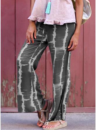 Tie Dye Lange Lässige Kleidung Jahrgang Hosen
