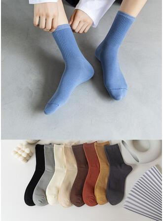 Einfarbig Warmen/Komfortabel/Crew Socks Socken