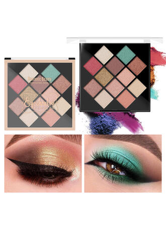 12- color Matte Shimmer Classic Eyeshadow With Box