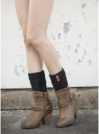 Einfarbig Komfortabel/Leg Warmers/Boot Cuff Socks Socken
