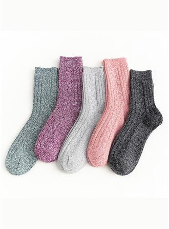 Gestreift/Bunt Komfortabel/Crew Socks Socken (Satz von 5 Paaren)
