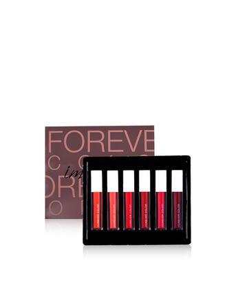 6 PCS Shimmer Lip Gloss Lip Sets With Box