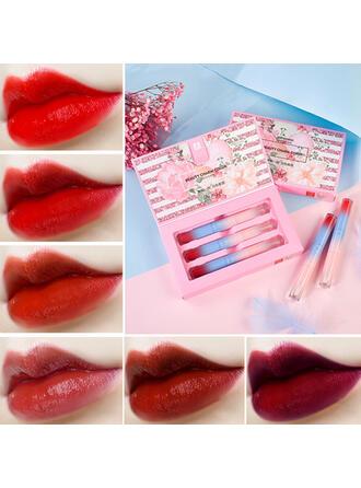 3-color Matte Classic Velvet Lipsticks Lip Sets With Box