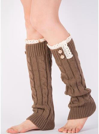 Gestreift/Stitching Warmen/Komfortabel/Leg Warmers/Boot Cuff Socks Socken
