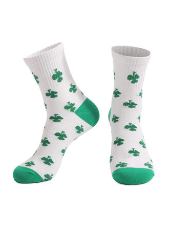 Leaves Crew Socks/Unisex/St. Patrick's Day Socks