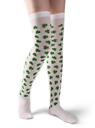Leaves Women's/Knee-High Socks/St. Patrick's Day Socks