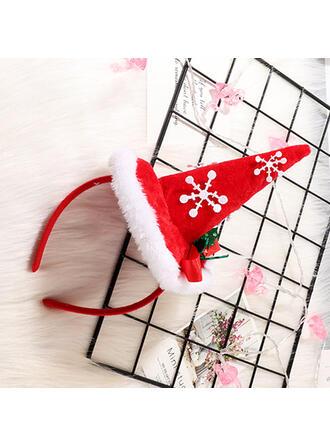Weihnachten Chiffon Haarschmuck