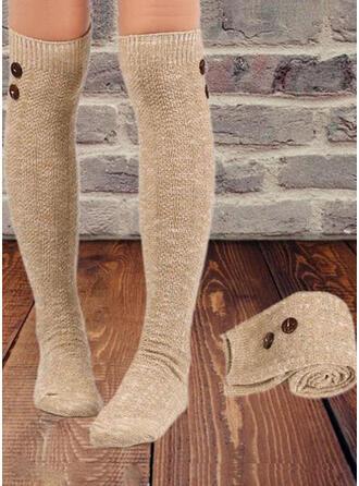 Crochet Warm/Comfortable/Women's/Knee-High Socks Socks/Stockings