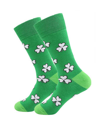 Leaves Women's/Crew Socks/St. Patrick's Day Socks