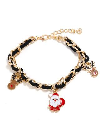 Weihnachten Rentier Weihnachten Weihnachten Sankt Legierung Armbänder