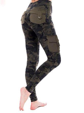 Taschen Übergröße Tarnen Lässige Kleidung Sexy Gamaschen