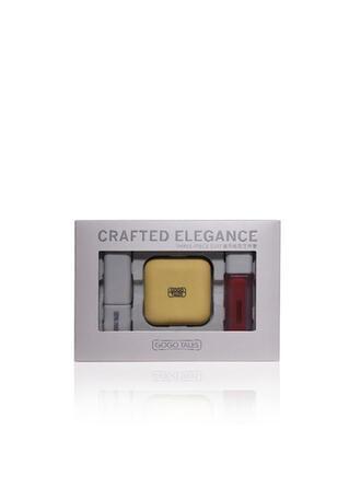 3-color Matte Shimmer Highlight & Bronze Lipsticks Lip Gloss With Box