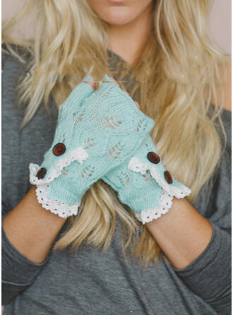 Hollow/Crochet attractive/Boho/Comfortable Gloves