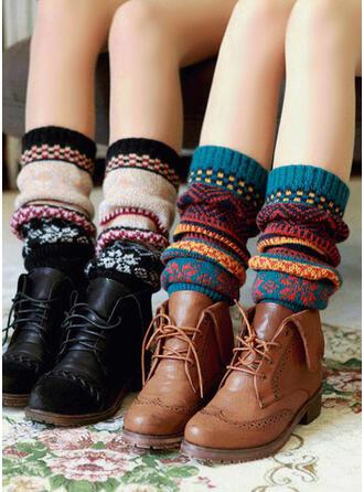 Gestreift/Geometrische drucken/Bunt Komfortabel/Weihnachten/Leg Warmers/Boot Cuff Socks Socken