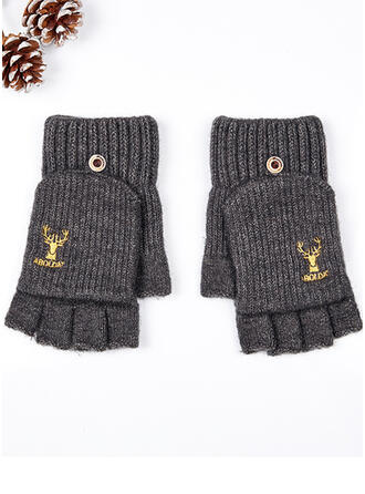 Graphic Prints/Christmas Reindeer attractive/simple/Comfortable Gloves
