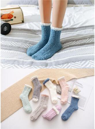 Einfarbig/Stitching Warmen/Komfortabel/Crew Socks Socken