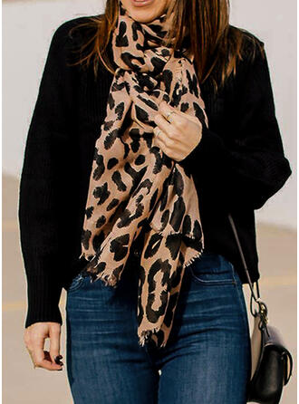 Leopard attractive/Breathable/Animal Designed Scarf
