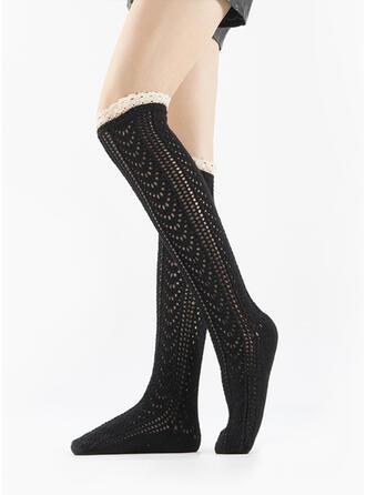 Gestreift/Einfarbig Warmen/Atmungsaktiv/Komfortabel/Knee-High Socks Socken/Strümpfe Socken