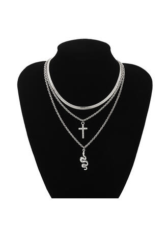Sexy Charming Artistic With Rhinestone Snake Design Women's Ladies' Necklaces 1 PC