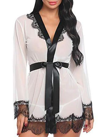 Spandex Lace Robe